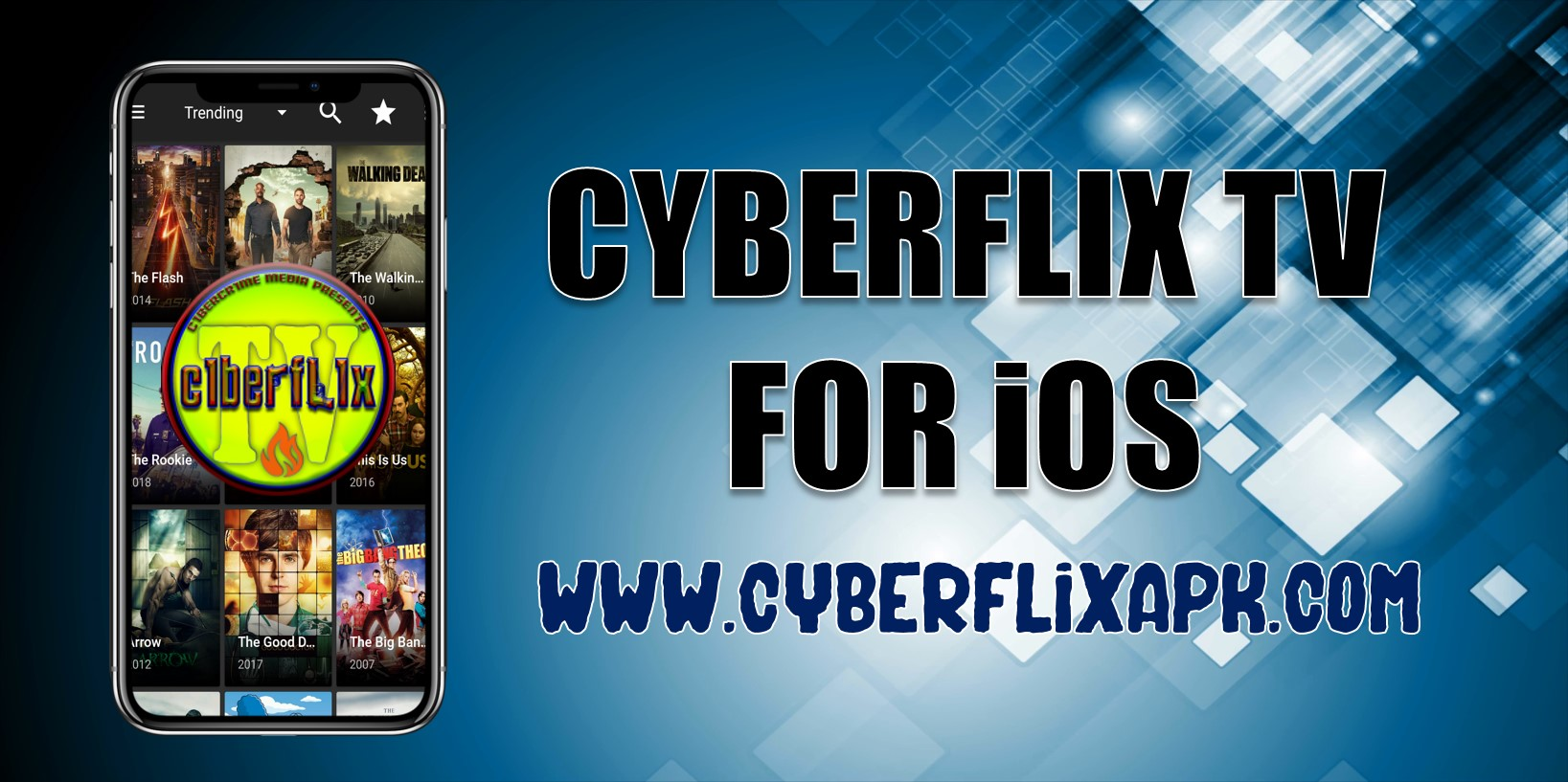 cyberflix tv for ios